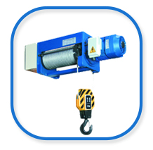 VAT foot mounted rope hoist