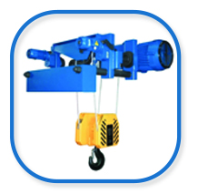 CVAT low headroom rope hoist