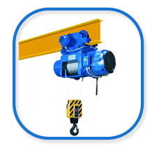 HVAT standard headroom rope hoist